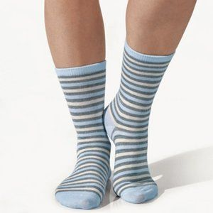 Striped Lurex Socks Brand New